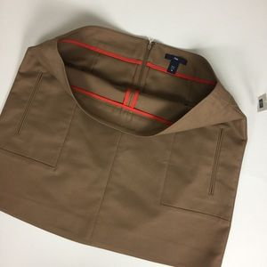 New with Tags GAP Khaki Mini Skirt Size 10